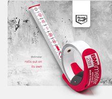 Mynd BMI Málband BMI Meter 3 metra (ath mynd af 2 metra)