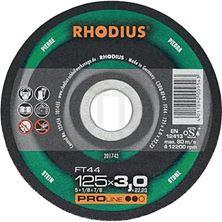 Mynd RHODIUS Skurðarskífa 125x3.0 Stein Pro Flöt