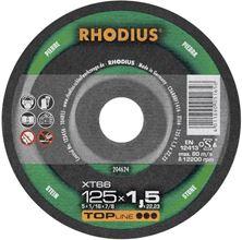 Mynd RHODIUS Skurðarskífa 125x1.5 Stein Top Pro Flöt