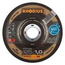 Mynd RHODIUS Skurðarskífa 125x1.0 Málmar Pro