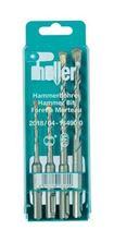 Mynd HELLER Borasett SDS+ Sett 4 stk 5+6+8+10mm Bionic