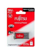 Mynd Fujitsu Rafhlaða Univ Alkaline 9V 1 stk
