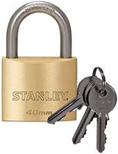 Mynd STANLEY Hengilás Brass 40mm