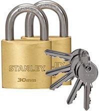 Mynd STANLEY Hengilás Brass 2 stk eins 30mm
