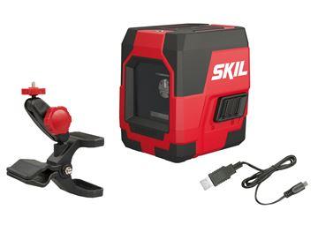 Mynd Skil Red Laser Krosslínu 15mtr USB 1910AA