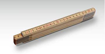 Mynd Stabila Tommustokkur 1 metra Tré (6 fellur) 18206