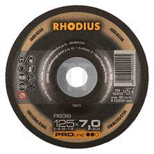 Mynd RHODIUS Slípiskífa 125x7.0 Málmar Pro Line