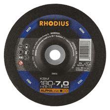 Mynd RHODIUS Slípiskífa 180 x 7.0 Málm
