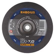 Mynd RHODIUS Slípiskífa 230x7.0 Málmar Alpha