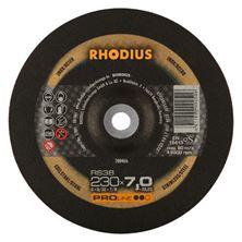 Mynd RHODIUS Slípiskífa 230x7.0 Málmar Pro Line