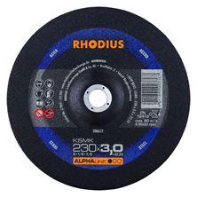 Mynd RHODIUS Skurðarskífa 230x3.0 Málmar Alpha