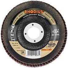 Mynd RHODIUS Flipaskífa 125mm Gr 80 Pro Line