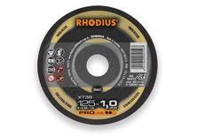 Mynd RHODIUS Skurðarskífa 125x1.0 Málmar Pro Line
