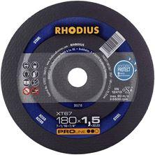 Mynd RHODIUS Skurðarskífa 180x1.5 Málmar Flöt Pro Line