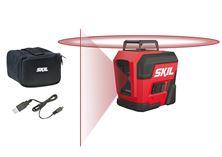 Mynd SKIL RED Laser Krosslínu 360° USB 1960DA