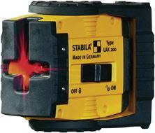 Mynd STABILA Laser LAX200 Línu Kross Rauður 17282 *