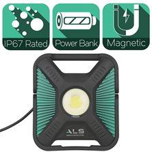 Mynd ALS Vinnuljós 10.000 Lumen SPX10K1C Bluetooth
