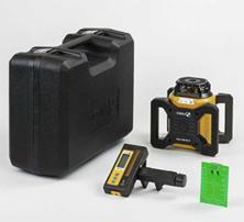 Mynd STABILA Laser Snúnings LAR 160 Grænn Geisli +-0,1mm allt að 600mtr f.rafhlöður 2x D IP65