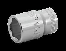 "Mynd BAHCO Toppur 1/4"" Sexk 12mm 6700SM-12"